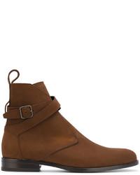 Botas formales marrónes de Saint Laurent