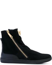 Botas negras de Versace