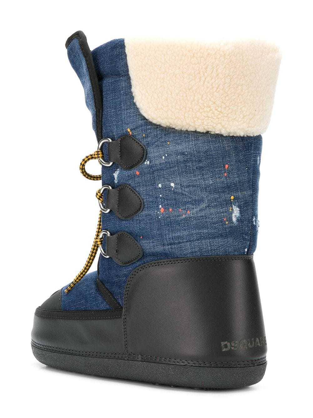Botas para la Nieve Azul Marino de DSQUARED2