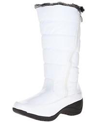 Botas para la nieve blancas