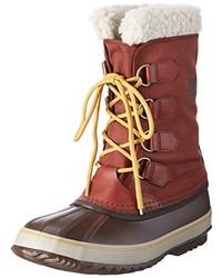 Botas para la nieve burdeos de Sorel