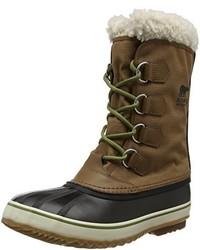Botas para la nieve en marrón oscuro de Sorel
