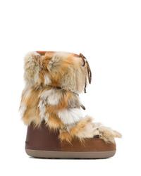 Botas para la nieve marrón claro de Dsquared2