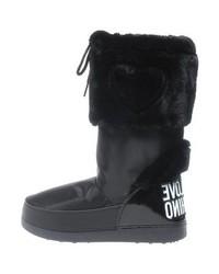 Botas para la Nieve Negras de Moschino