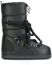 Botas para la nieve negras de Versace