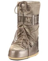 Botas para la nieve plateadas de Moon Boot