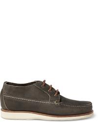 Botas safari de cuero en gris oscuro de Red Wing Shoes