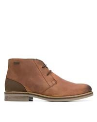Botas safari de cuero marrónes de Barbour