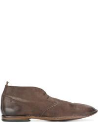 Botas safari de cuero marrónes de Pantanetti