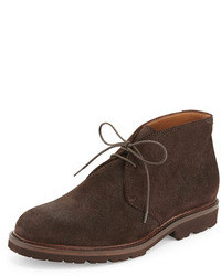 Botas safari en marron oscuro original 8627944