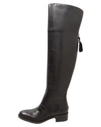 Botas sobre la Rodilla Negras de Ralph Lauren