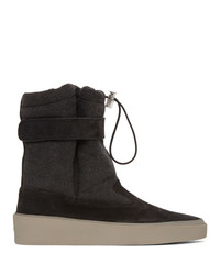 Botines chelsea de ante negros de Fear Of God