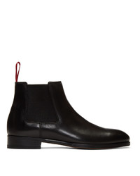 Botines chelsea de cuero negros de Paul Smith