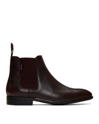 Botines chelsea de cuero negros de Ps By Paul Smith
