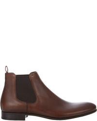 62633f92dc3 Comprar unos botines chelsea en marrón oscuro Hugo Boss