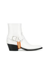 Botines de cuero blancos de Calvin Klein 205W39nyc