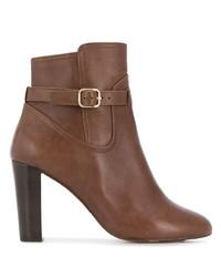Botines de cuero marrónes de Tila March