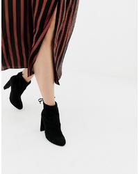 Botines de elástico negros de New Look
