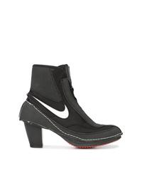 Botines de lona negros de Nike