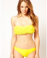 d914ec7470c5 Braguitas de bikini amarillas de Asos, €25 | Asos | Lookastic España