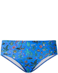 Braguitas de bikini azules de Paul Smith