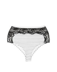 Braguitas de bikini blancas de Fleur Du Mal