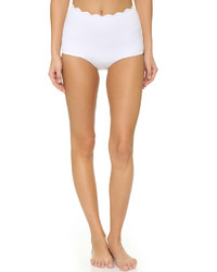 Braguitas de bikini blancas de Marysia Swim