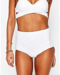 Braguitas de bikini blancas de South Beach
