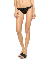 Braguitas de bikini con recorte negras de Milly