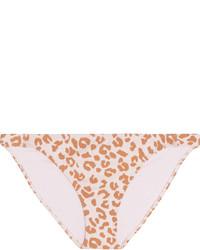 Braguitas de bikini de leopardo