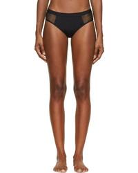 Braguitas de bikini de malla negras de Alexander Wang