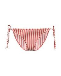 Braguitas de bikini de rayas verticales rosa de YAS