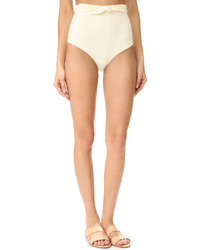 Braguitas de bikini en beige de Mara Hoffman