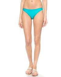 Braguitas de bikini en turquesa de Mikoh