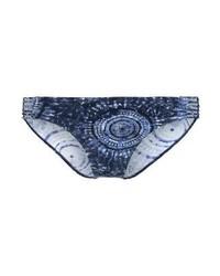 Braguitas de Bikini Estampadas Azul Marino de Esprit