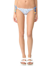 Braguitas de bikini estampadas celestes de Stella McCartney
