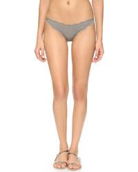 Braguitas de bikini grises de Marysia Swim