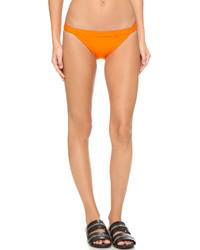 Braguitas de bikini naranjas de Zero Maria Cornejo