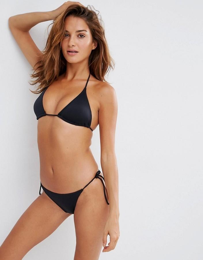 d4c35aa35048 Braguitas de bikini negras de Asos