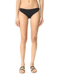 Braguitas de bikini negras de Marysia Swim