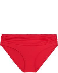 Braguitas de bikini rojas de Melissa Odabash