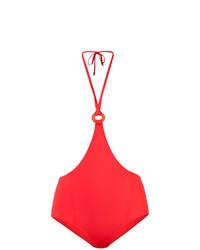 Braguitas de bikini rojas de Morgan Lane