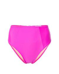 Braguitas de bikini rosa de Fleur Du Mal