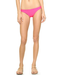 Braguitas de bikini rosa de Shoshanna
