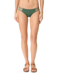 Braguitas de bikini verde oscuro de Mikoh