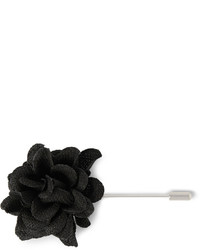 Broche de solapa negro de Lanvin