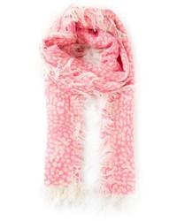 Bufanda a lunares rosada de Chloé