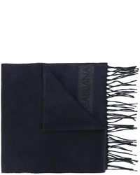 Bufanda azul marino de Dolce & Gabbana