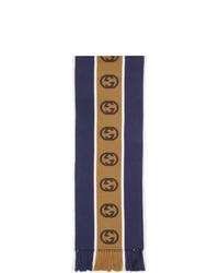 Bufanda azul marino de Gucci