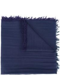 Bufanda azul marino de Lanvin